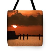 Hovering Sun Tote Bag