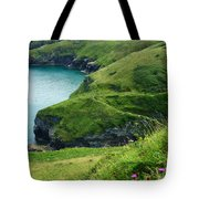 Rolling Hills Of Green Tote Bag