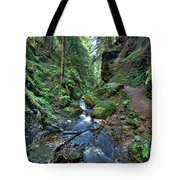 How Green Is My Glen Tote Bag