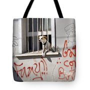 How Much Is That Doggie In The Window? Tote Bag by Kurt Van Wagner
