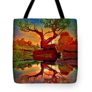 How One Tree Becomes Two Tote Bag