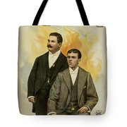 Howard And Stevens In Their Illustrated Songs Tote Bag