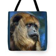 Howler Monkey Tote Bag