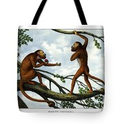Howling Monkey Tote Bag