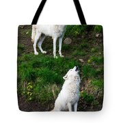 Howling Wolves Tote Bag