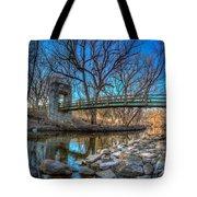 Hoyt Bridge Tote Bag