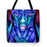 H.r. Giger Inspired D Tote Bag
