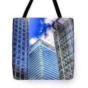 Hsbc Tower London Tote Bag