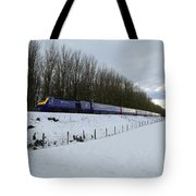 Hst In The Snow  Tote Bag