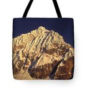 Mt Huandoy Sunrise Cordillera Blanca Tote Bag