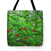 Huckleberry Bush Tote Bag