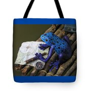 Huckleberry Frog II Tote Bag