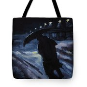 Huddling Through The Storm Tote Bag