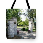 Hudson Crossing Park Tote Bag
