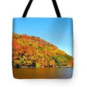 Hudson River Fall Foliage Tote Bag