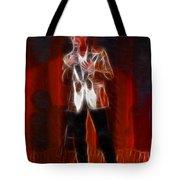 Huey Lewis-fractal Tote Bag