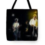 Huey Lewis-ge7-fractal Tote Bag