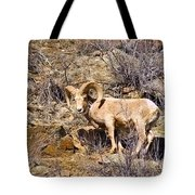 Huge Bighorn Tote Bag