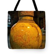 Huge Marble Jar Cut From One Piece Of Marble In Saint Sophia's I Tote Bag