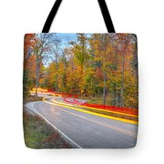 Hugging The Curves Tote Bag