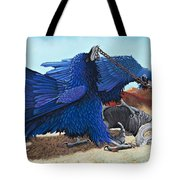 Huginn And Muninn Tote Bag