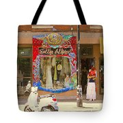 Hugs At Les Folles Allies Vintage Couture Friperie Farewell Goodbye Mont Royal City Scene C Spandau  Tote Bag