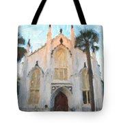 Huguenot Church Tote Bag