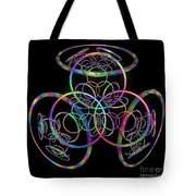 Hula Hoops Tote Bag