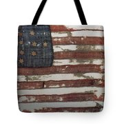 Hulbert Flag Early Us Flag 1776 Tote Bag by Photo Researchers