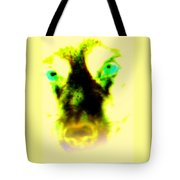The Green-eyed Hulders Wolf Tote Bag