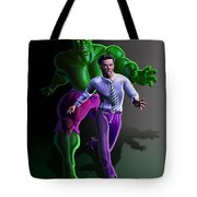 Hulk - Bruce Alter Ego Tote Bag