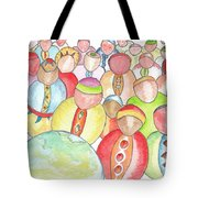 Humains / Human Beings Tote Bag