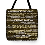Human Carnival Sideshows And Other Oddities Of The World 20130625bwwa85 Tote Bag