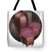Human Liver Lobules, Cross-section Tote Bag