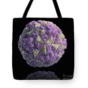 Human Rhinovirus Tote Bag