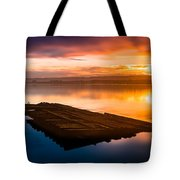 Humboldt Bay Spring Sunrise Tote Bag