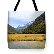 Humboldt Mountains Seen From Routeburn Track Nz Tote Bag