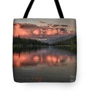 Hume Lake Sunset Tote Bag