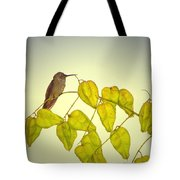 Hummer Lookout Tote Bag