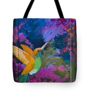 Hummers Paradise Tote Bag