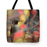 Humming Bird Christmas Tote Bag