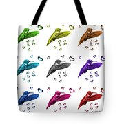 Hummingbird - 2055 F S M - Wb Tote Bag