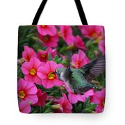 Hummingbird 3219 Tote Bag
