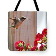 Hummingbird 4533 Tote Bag