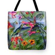 Hummingbird Dance Tote Bag