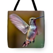 Hummingbird Frolic Tote Bag