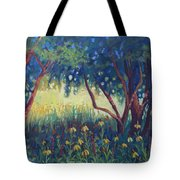 Hummingbird Gardens Tote Bag