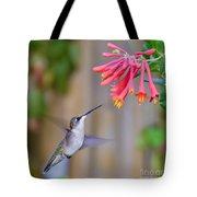Hummingbird Happiness Tote Bag