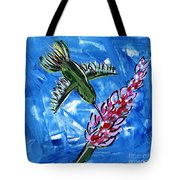Hummingbird II Tote Bag
