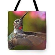Hummingbird Intensity Tote Bag